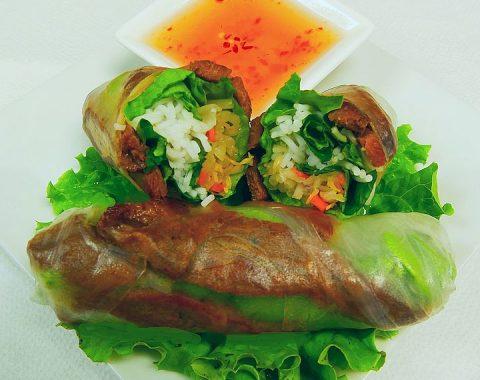 Grilled Pork Rolls (2) / Gỏi Cuốn Heo Nướng