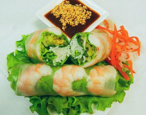 Shrimp Summer Rolls (2) / Gỏi Cuốn Tôm