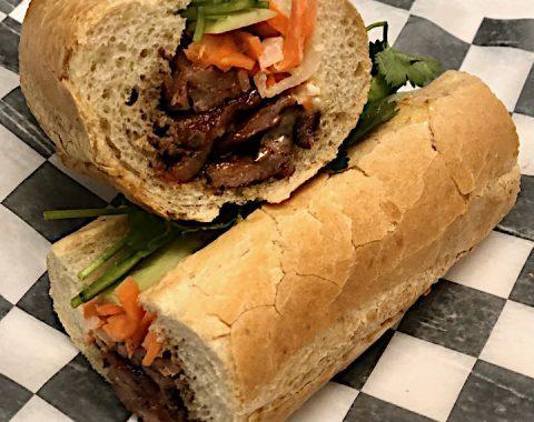 Grilled Pork Banh Mi / Bánh Mì Heo Nướng