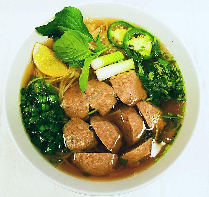 Meatball Pho / Phở Bò Viên