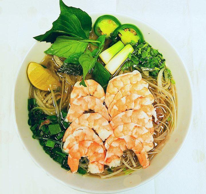 Shrimp Pho / Phở Tôm