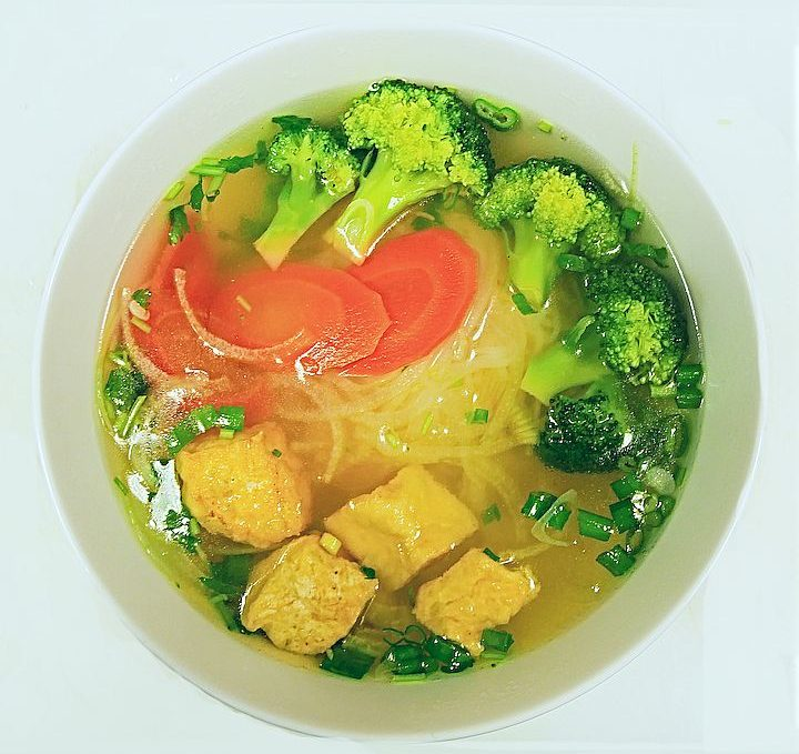 Vegetarian Pho / Phở Chay